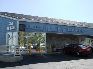 Lakes Lounge entrance at 2920 Lake East Drive in Las Vegas 89117